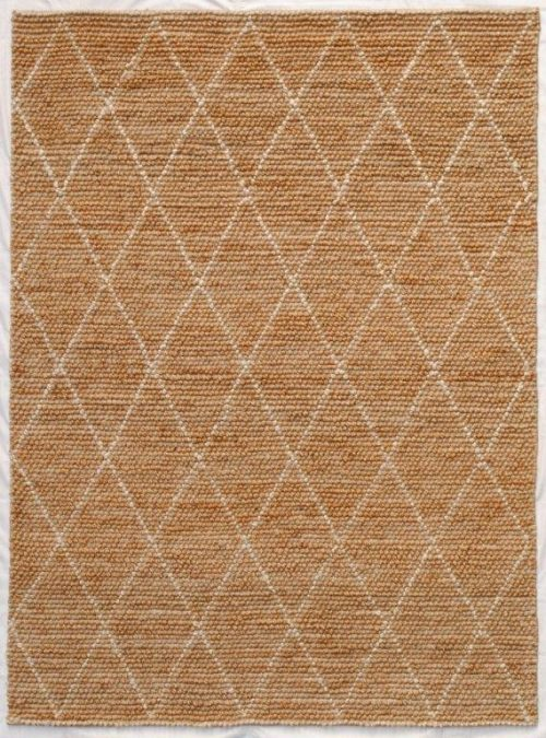 Tempest 240cm x 330cm Jute Rug - White by Interior Secrets - AfterPay Available by