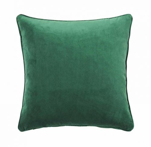 Weave Zoe 50cm Velvet Cushion - Forest Green by Interior Secrets - AfterPay Available by