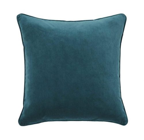 Weave Zoe 50cm Velvet Cushion - Mallard by Interior Secrets - AfterPay Available by