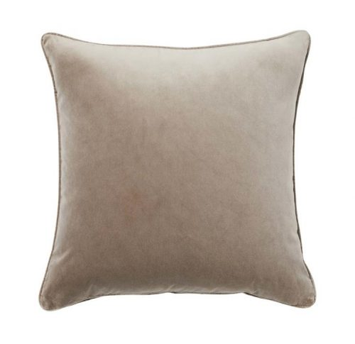 Weave Zoe 50cm Velvet Cushion - Truffle by Interior Secrets - AfterPay Available by