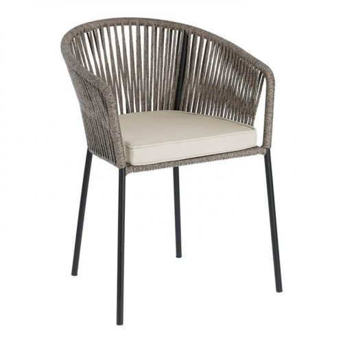 Yanet Outdoor Dining Chair - Brown by Interior Secrets - AfterPay Available by