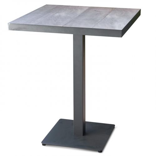 Memphis 80cm Ceramic Outdoor Bar Table - Charcoal by Interior Secrets - AfterPay Available by