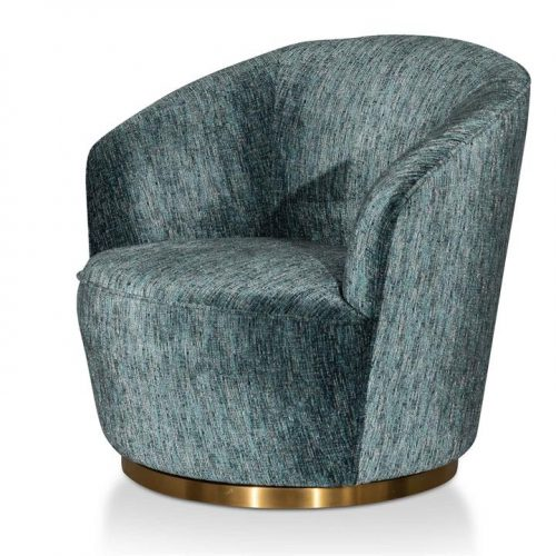 Fredric Fabric Lounge Chair - Emerald Green by Interior Secrets - AfterPay Available by