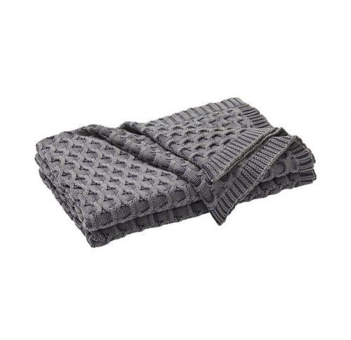 Weave Delaney Cotton Throw Rug - Monument by Interior Secrets - AfterPay Available by