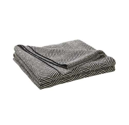Weave Solano Cotton Throw Rug - Onyx by Interior Secrets - AfterPay Available by